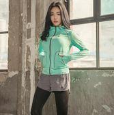 瑜伽服速干韓國健身房健身服跑步運動套裝女