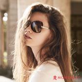 太陽眼鏡墨鏡偏光 夢特嬌 女款時尚玳瑁名媛款