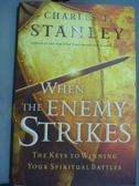 【書寶二手書T4/原文書_PHF】When The Enemy Strikes_Charles F. Stanley