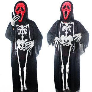 恐怖骷髏套裝