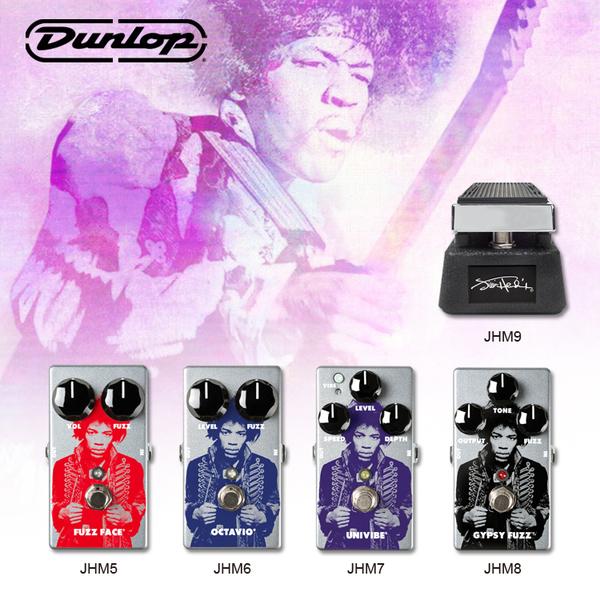 小叮噹的店-新品 Dunlop JIMI HENDRIX 電吉他效果器 FUZZ FACE DISTORTION JHM5
