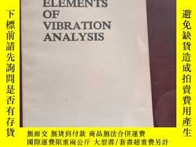 二手書博民逛書店ELEMENTS罕見OF VIBRATION ANALYSIS
