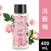 Love Beauty & Planet 保加利亞玫瑰染燙修護洗髮精 400ML
