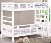 【新北大】✪ R62-1 佐伊白色雙層床(不含床墊) -18購