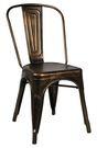 【南洋風休閒傢俱】設計單椅系列-曼尼鐵椅 烤漆靠背椅 鐵製餐椅 洽談椅 休閒餐椅1002