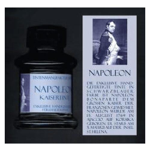 JANSEN文學家系列手工墨水(藍黑色)拿破崙 須預定*1154