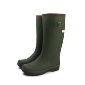 Hiromichi Nakano [不可超取] 雨鞋 雨靴 防水 中筒 霧面 墨綠色 女鞋 HIWL146R8 no094