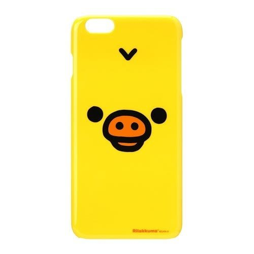 尼德斯Nydus~* 日本正版 豬鼻雞 黃色小雞 拉拉熊 懶懶熊 手機殼 硬殼 5.5吋 iPhone6 Plus