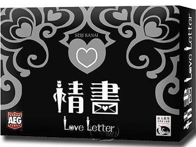 【新天鵝堡】情書(日版) Love Letter- 中文正版桌遊 《日本益智遊戲》中壢可樂農莊