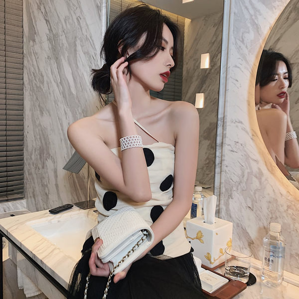 春夏新款珍珠編織手環ins網紅推薦仙氣迷人手鍊優雅復古手鐲手飾 潮流衣舍