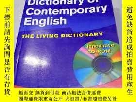 二手書博民逛書店英文原版罕見LONGMAN Dictionary of Cont