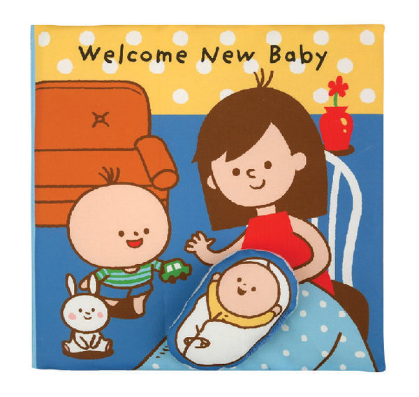 *babygo*奇智奇思 K's Kids 布書-迎接第二個寶貝!英文版布書