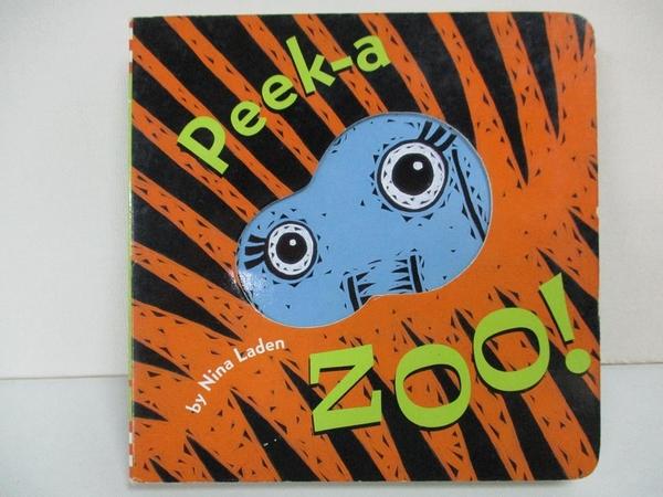 【書寶二手書T1/原文小說_B4B】Peek-a-Zoo!_Laden, Nina