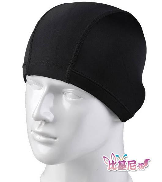 ★草魚妹★VV1布面泳帽可搭配泳衣比基尼,售價100元