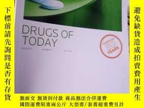 二手書博民逛書店DRUGS罕見OF TODAY Volume 51 Number