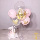 氣球支架生日派對婚慶裝飾立柱氣球套餐桌飄...