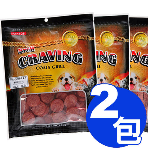 【寵物王國】PANTOP邦比-炙燒零食系列2包組