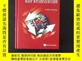 二手書博民逛書店Economic罕見Crisis and Rule Recons