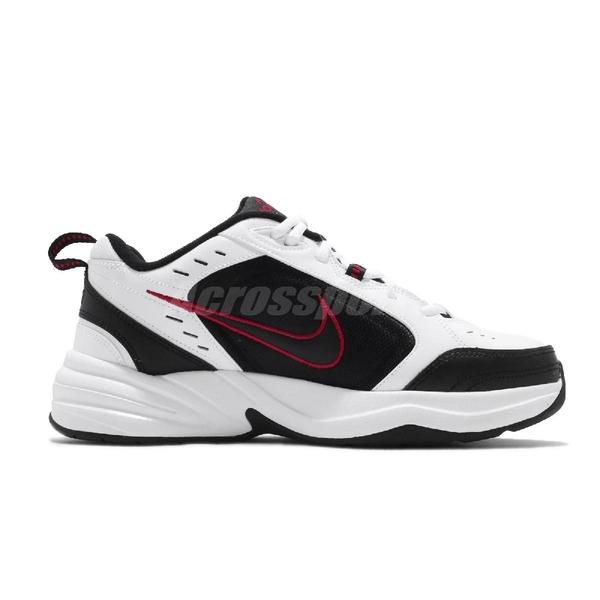 Nike 休閒鞋 Air Monarch IV 黑 白 男鞋 運動鞋 老爹鞋 【ACS】 415445-101