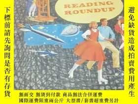 二手書博民逛書店READING罕見ROUNDUP BOOK2(英文),精裝Y14