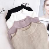 韓國小高領修身顯瘦針織打底衫秋冬款