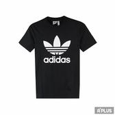 Adidas 女 TREFOIL TEE 愛迪達 圓領T(短)- CV9888