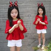 韓版娃娃裝2018春夏季新款T恤