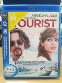 影音專賣店-Q21-096-正版BD【色遇/The Tourist】-強尼戴普*安吉莉娜裘莉
