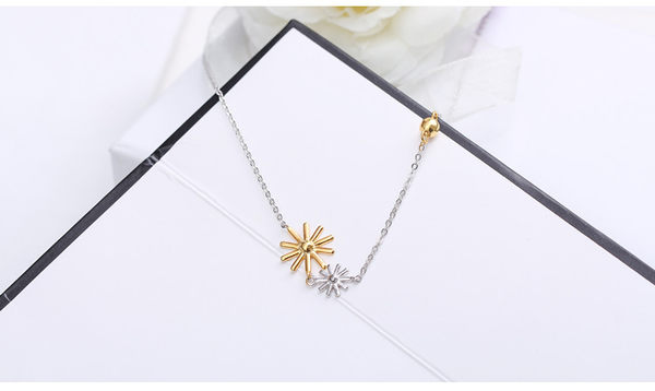 Star 日韓系列 -  太陽鎖骨鏈-B4
