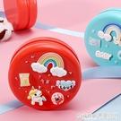 兒童乳牙紀念盒女孩男孩換掉牙齒收納胎毛保存收藏盒寶寶生日禮物 極有家