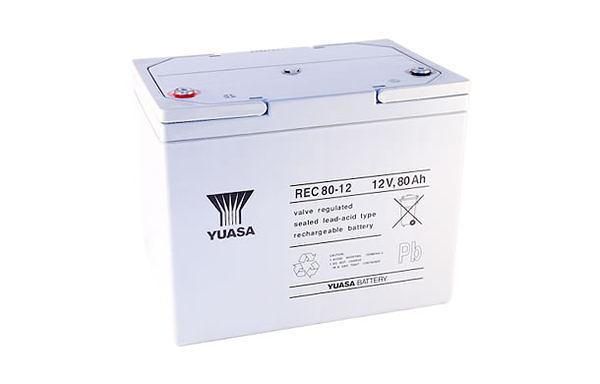 YUASA湯淺REC80-12電動車電池★全館免運費★『電力中心-Yahoo!館』