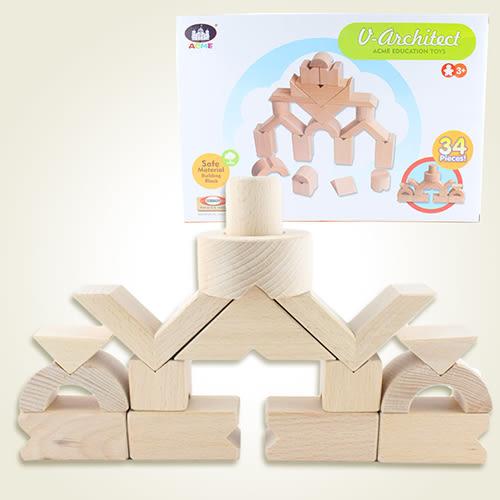 【瑪琍歐玩具】小小建築師積木組/AC-1001