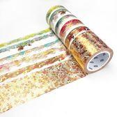 口紅手帳貼紙故宮風和紙整卷古風日式日記DIY裝飾燙金版【奇趣小屋】