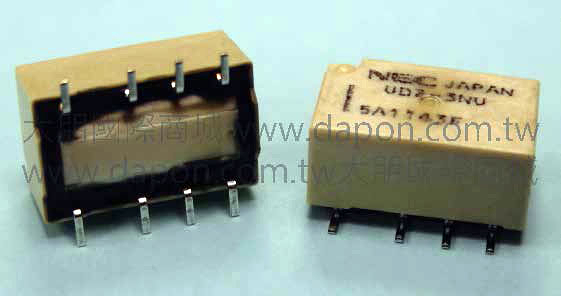 *大朋電子商城*NEC TOKIN UD2-3NU(日本製)繼電器Relay(5入)