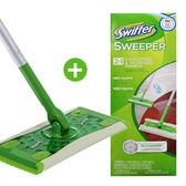 Swiffer 乾濕兩用拖把組 (拖把x1+乾式除塵紙x2+濕拖巾x1)原價$695↘$299(完成付款貨運寄出)