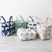 zakka日系棉麻抽繩保溫桶便當袋收納用品盒箱廚房家居生活飯盒袋(全館滿1000元減120)