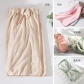 成人洗臉毛巾 可穿浴巾 干發帽 發帶4件套裝 美容浴裙女柔軟吸水