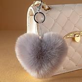吊飾  仿狐貍毛掛件皮草包包掛件毛絨鑰匙扣掛飾大毛毛球掛件