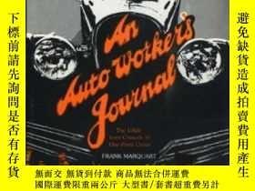 二手書博民逛書店An罕見Auto Worker s Journal: The U