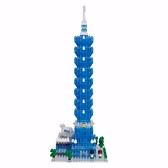 《Nano Block迷你積木》【世界主題建築系列】NBH-154 台北101(新裝版) / JOYBUS玩具