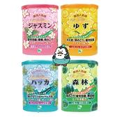 日本 巴斯花卉入浴劑 680g : 薄荷清涼、森林、柚子、茉莉花 藥浴入浴劑 HEA泡湯溫泉入浴劑