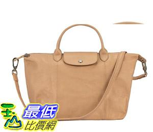 [COSCO代購] W1279478 Longchamp 中手把皮革手提包
