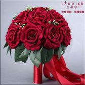 新娘結婚手捧花仿真玫瑰婚禮創意花球
