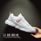 2019新款韓版潮流百搭運動休閑鞋跑步小熊鞋子男潮鞋
