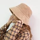 可可牛奶羊羔毛漁夫帽-KK-Rainbow【A3012030】