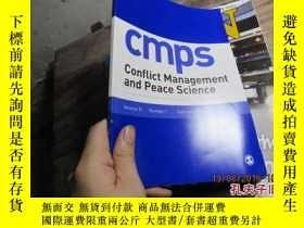 二手書博民逛書店cmps罕見conflict management and pe
