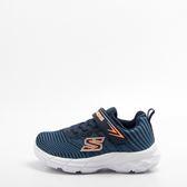零碼出清~Skechers  ECLIPSOR  兒童慢跑鞋-藍/白/橘 95030NNVSL