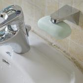專利康寶利亮銀色磁吸式吸皂器香皂盒 肥皂盒香皂架 花樣年華