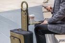 美國商務智能USB充電可折疊登機箱20寸行李箱布箱移動電 城市部落