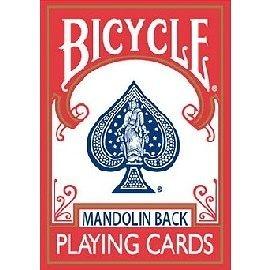【USPCC撲克館】撲克牌 BICYCLE 809 曼陀鈴 紅背
